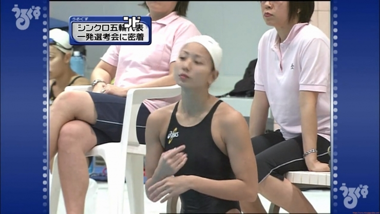 Aoi Aoki swimsuit swimsuit image Synchronized with the first round of the Olympic Games007