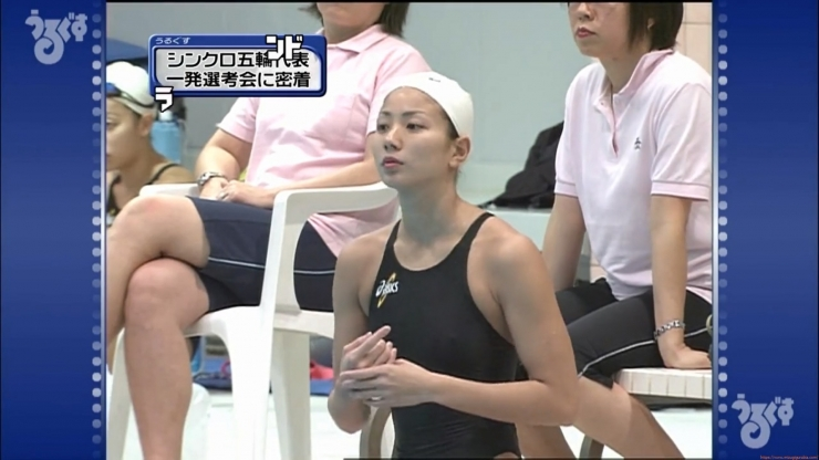 Aoi Aoki swimsuit swimsuit image Synchronized with the first round of the Olympic Games008