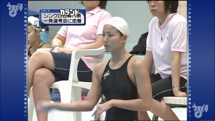 Aoi Aoki swimsuit swimsuit image Synchronized with the first round of the Olympic Games011