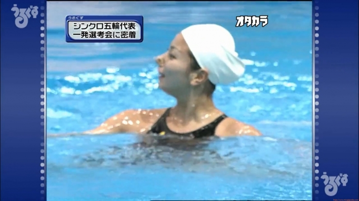 Aoi Aoki swimsuit swimsuit image Synchronized with the first round of the Olympic Games058