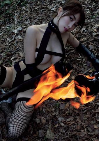 Tomomi Morisaki Campfire x Eros in an Inexperienced Zone002