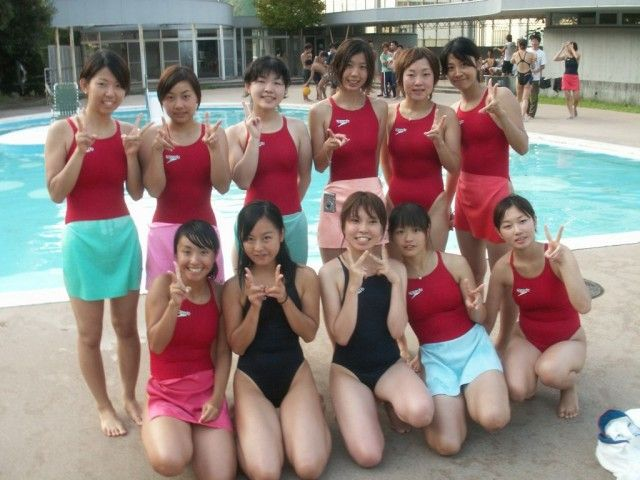 Swimsuit Competition: A compilation of older women in school swimsuits003