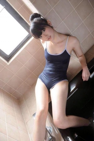 Swimsuit Competition: A compilation of older women in school swimsuits028
