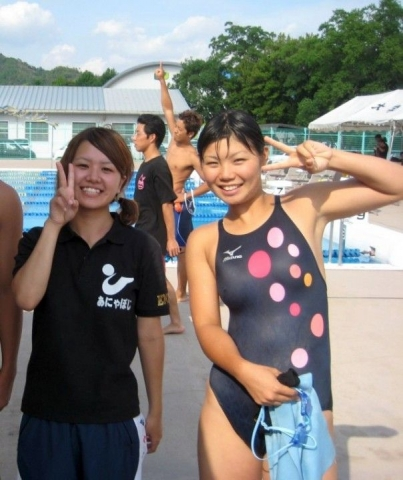 Swimsuit Competition: A compilation of older women in school swimsuits033
