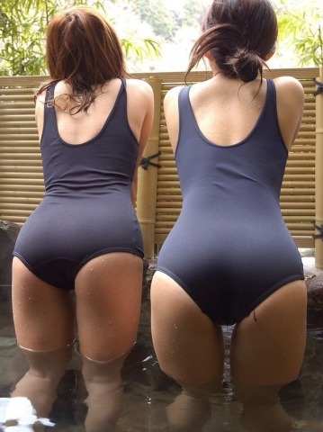 Swimsuit Competition: A compilation of older women in school swimsuits044