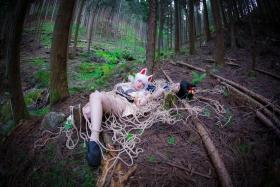 Restrained Fox Cosplay Underwear Image084