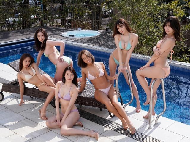 Otona no lip GIRLS 6 erotic women swimsuit gravure014