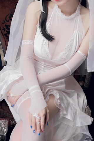 skirt dress breast glimpse Atago Azur Lane012