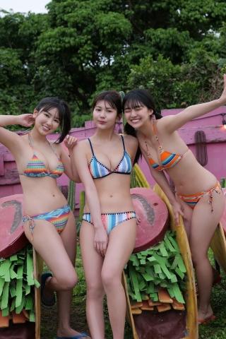 Aika Sawaguchi Luna Toyota, Haruka Arai Haruka Mismagas Strongest Beautiful Girls Gathering Vol2003