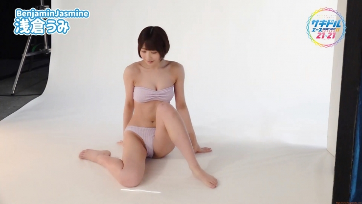 Uumi Asakuras first swimsuit is a sight to behold for both boys and girls040