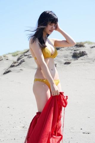 Ando Sakizakura swimsuit gravure, booming popularity in the gravure world005