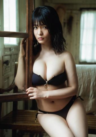 Mitsunori HoshinaCute expression and round H cup bust gravure idol010