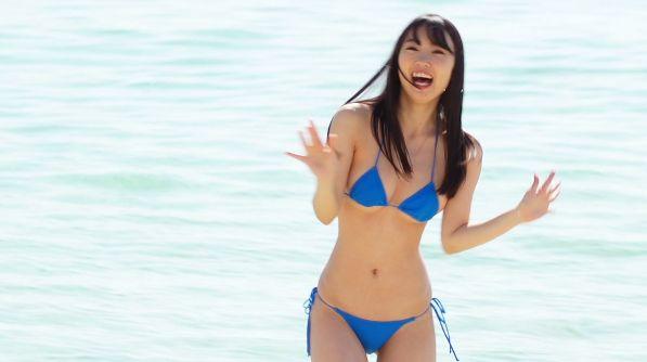 Mizuki Sakigawa Swimsuit Gravure Miss FLASH 2020 Grand Prix017