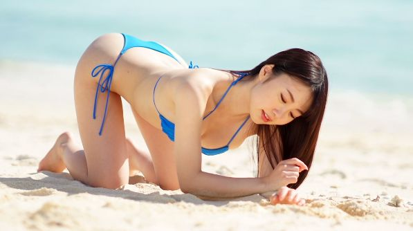 Mizuki Sakigawa Swimsuit Gravure Miss FLASH 2020 Grand Prix018