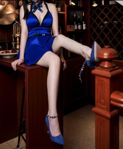 Tifa Lockhart Dress Version Cosplay006