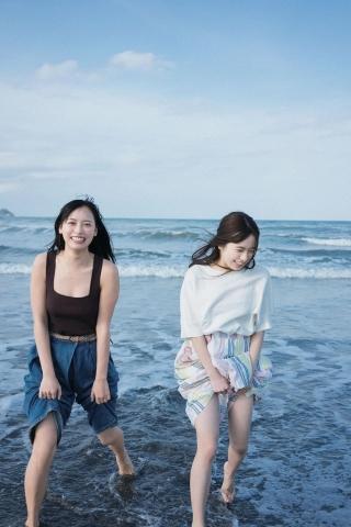 Nagisa Hayakawa Riko Otsuki Swimsuit Gravure Miss Magazine 2020 Two Spaces011
