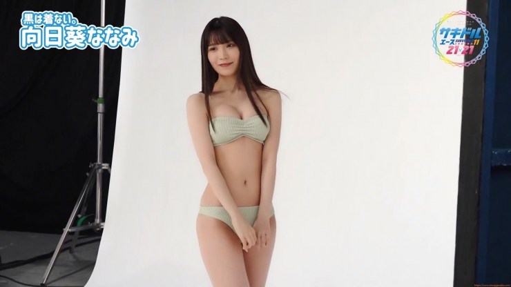 Nanami Mukouni swimsuit gravure The most powerfulweapon Im not sure what to do with it043