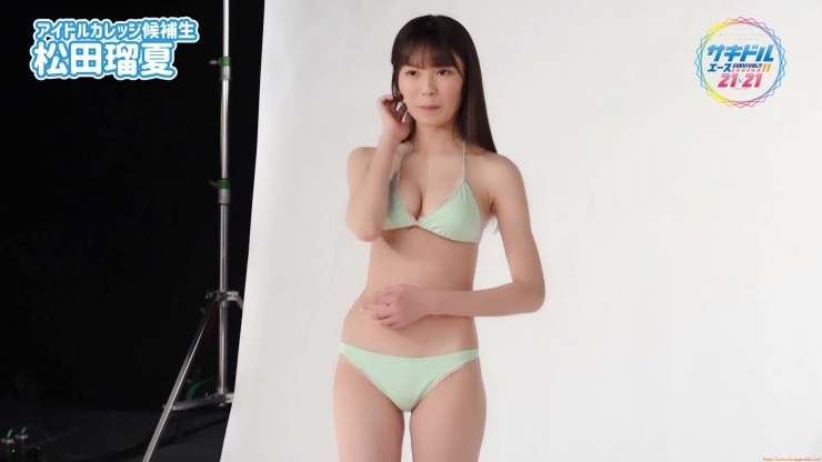 Runatsu Matsuda swimsuit gravure 17 years old is an idol004
