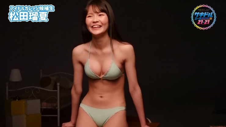 Runatsu Matsuda swimsuit gravure 17 years old is an idol030