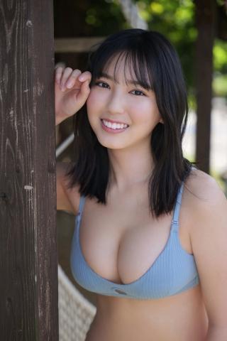 Aika Sawaguchi Luna Toyoda Haruka Arai Bouncy Bikini002