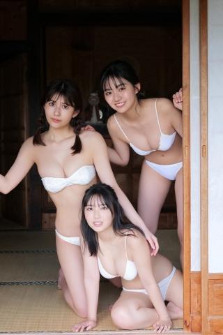 Aika Sawaguchi Luna Toyota Haruka AraiSwimsuit Gravure Summer is just around the corner012