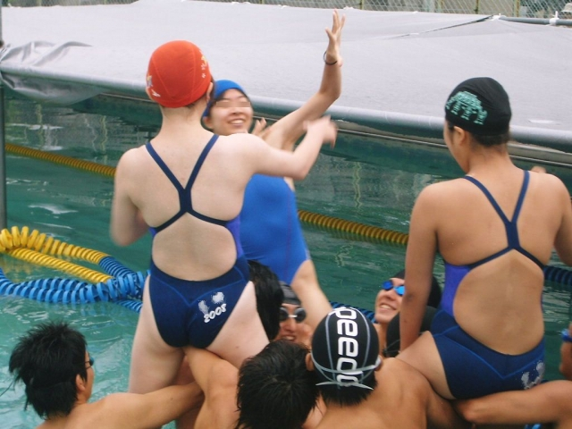 Kyoko swimming competition swimsuit image summary swimming swimming cavalcade pool competition school swimsuit003