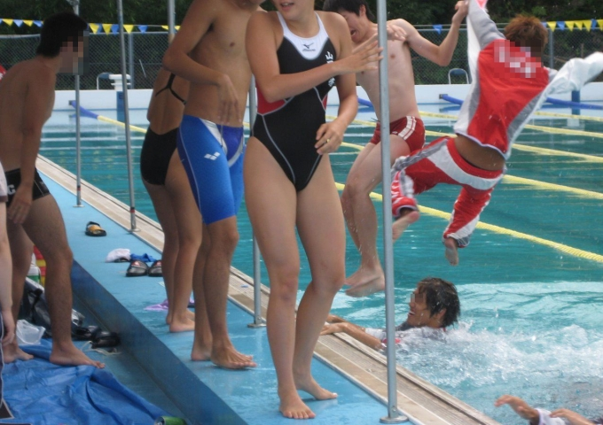 Kyoko swimming competition swimsuit image summary swimming swimming cavalcade pool competition school swimsuit004