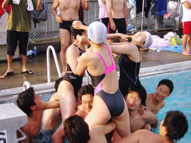 Kyoko swimming competition swimsuit image summary swimming swimming cavalcade pool competition school swimsuit012
