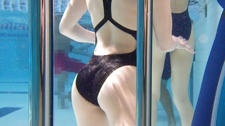 Kyoko swimming competition swimsuit image summary swimming swimming cavalcade pool competition school swimsuit009