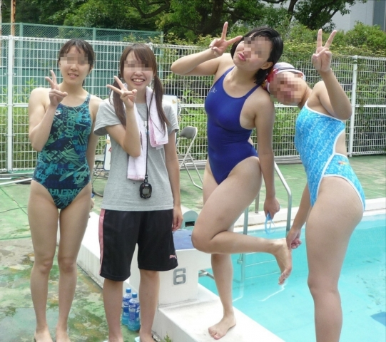 Kyoko swimming competition swimsuit image summary swimming swimming cavalcade pool competition school swimsuit010