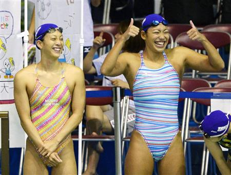 Kyoko swimming competition swimsuit image summary swimming swimming cavalcade pool competition school swimsui2t007