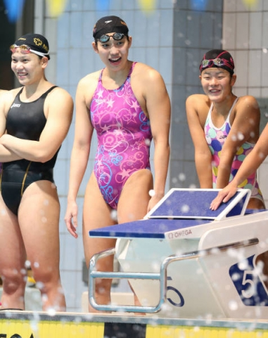 Kyoko swimming competition swimsuit image summary swimming swimming cavalcade pool competition school swimsui2t017
