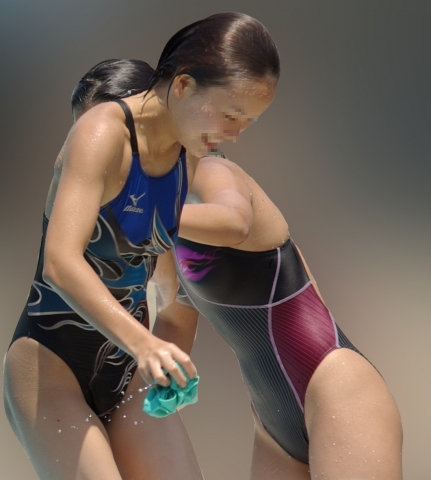 Kyoko swimming competition swimsuit image summary swimming swimming cavalcade pool competition school swimsuit33007