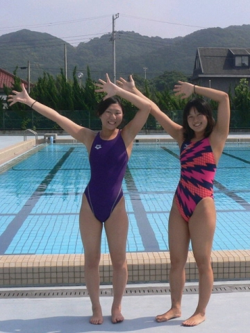 Kyoko swimming competition swimsuit image summary swimming swimming cavalcade pool competition school swimsuit33025