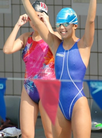 Kyoko swimming competition swimsuit image summary swimming swimming cavalcade pool competition school swimsuit03001