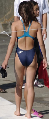 Kyoko swimming competition swimsuit image summary swimming swimming cavalcade pool competition school swimsuit03003