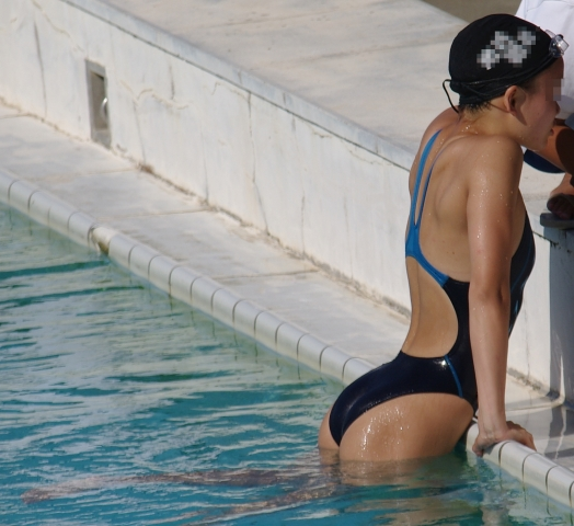 Kyoko swimming competition swimsuit image summary swimming swimming cavalcade pool competition school swimsuit03005
