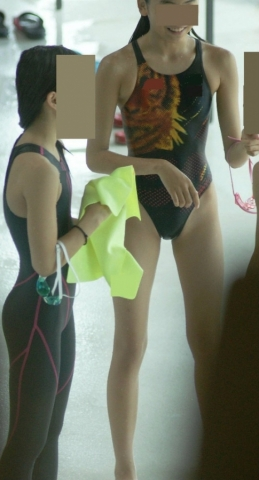 Kyoko swimming competition swimsuit image summary swimming swimming cavalcade pool competition school swimsuit03009