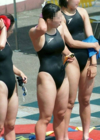 Kyoko swimming competition swimsuit image summary swimming swimming cavalcade pool competition school swimsuit03039