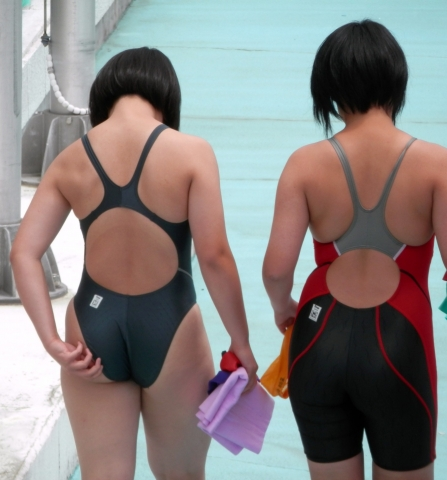Kyoko swimming competition swimsuit image summary swimming swimming cavalcade pool competition school swimsuit03060