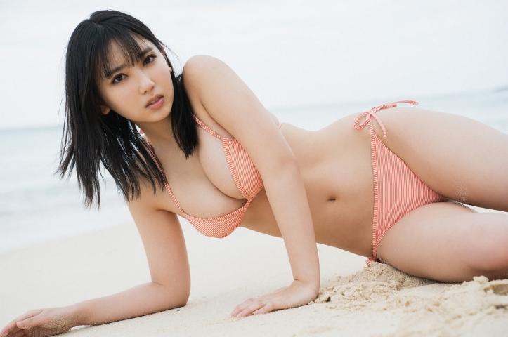 Aika Sawaguchi Swimsuit Gravure Current NO1 gravure idol who graduated from high school4035