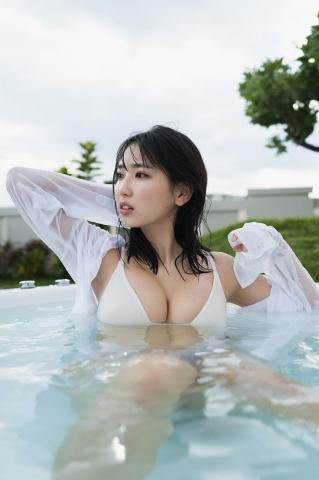Aika Sawaguchi Swimsuit Gravure Current NO1 gravure idol who graduated from high school5039