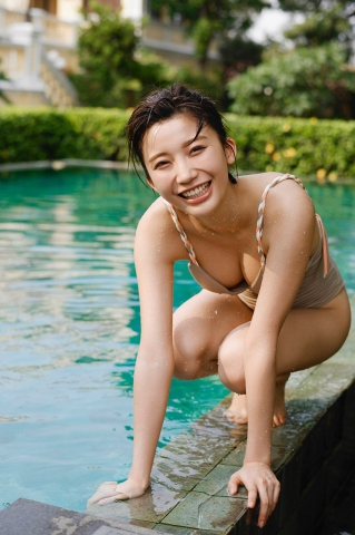 Yuka Ogura Swimsuit Gravure For Adults Vol1020