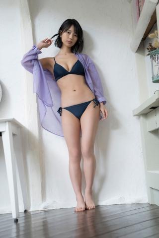 Natsume Aya swimsuit gravure006