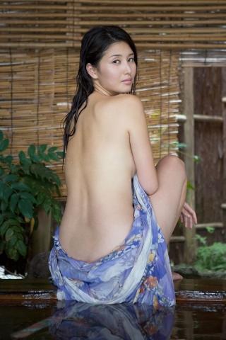 Manami Hashimoto Watercolor gravure Nostalgia hot spring004
