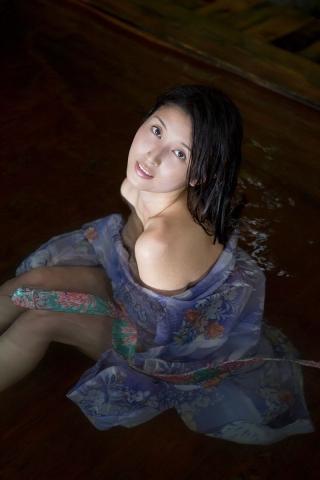 Manami Hashimoto Watercolor gravure Nostalgia hot spring010