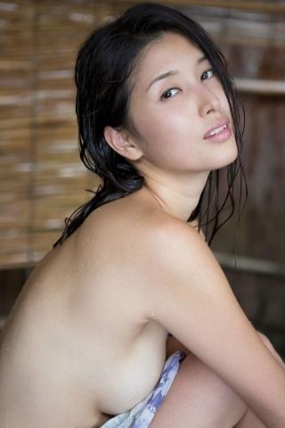 Manami Hashimoto Watercolor gravure Nostalgia hot spring007