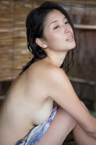 Manami Hashimoto Watercolor gravure Nostalgia hot spring008