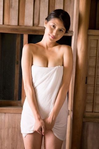 Manami Hashimoto Watercolor gravure Nostalgia hot spring020
