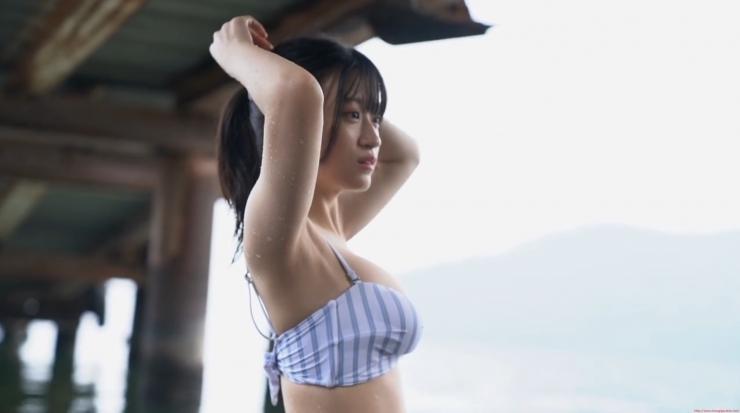 Rei Kaminishi Swimsuit Gravure Making of Water Temperature Vol2009